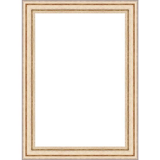 Selçuklu Sanat Puzzle Çerçevesi 42 mm 48 x 68 cm 1000'lik Beyaz
