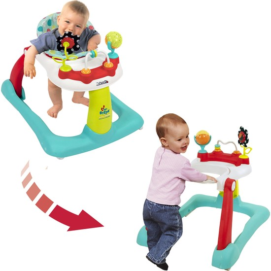 Kolcraft Tiny Steps 2'si 1 Arada Bebek Yürüteç