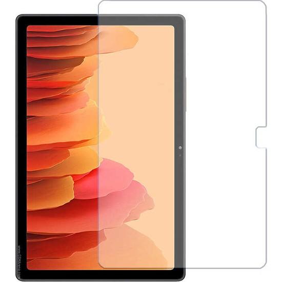 Tekno Grup Samsung Galaxy Tab A7 10.4'' T500 (2020) Temperli Cam Ekran Koruyucu Şeffaf