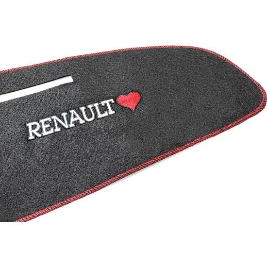 Trend Garaj Renault Brodway Kokpit Göğüs Torpido Halısı Konsol