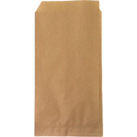 Anadolu Kağıtçılık Sandviçlik-Yandan Açık Şamua 40 G Kraft Kese Kağıdı İthal 12 x 24 CM 10KG 2250 Adet