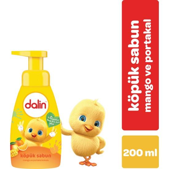 Dalin Köpük Sabun Mango ve Portakal 200 ml