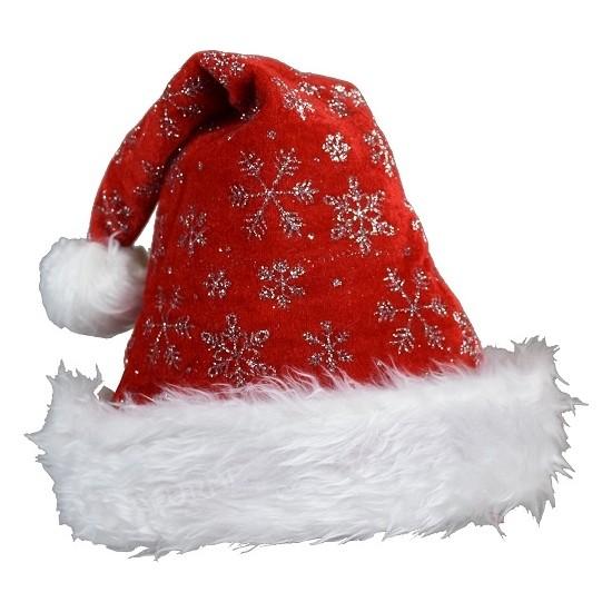 Cakes Party Noel Baba Şapka Kar Taneli