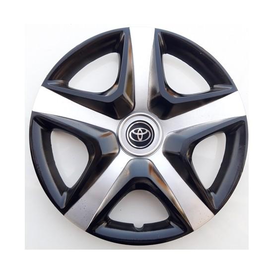 14'' İnç Toyota Jant Kapağı 4 Adet Çelik Jant Görünümlü Renkli Kırılmaz Esnek