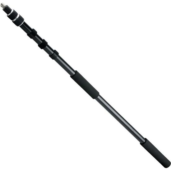 Ayex Boom Pole Dslr Profesyonel Mikrofon Uzatma Çubuğu Siyah