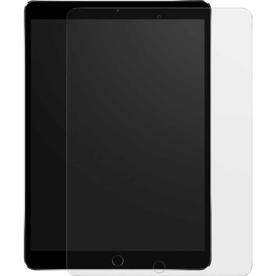 Wowlett Apple iPad 10.2 8. Nesil Paper Like Kağıt Hissi Mat Kırılmaz Cam Ekran Koruyucu Şeffaf