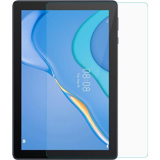 Wowlett Huawei Matepad T10S Nano Esnek Kırılmaz Cam Ekran Koruyucu Şeffaf