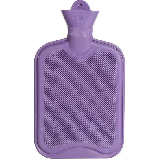 Vichy Sıcak Su Torbası Kılıfsız Mor Renk 2 lt