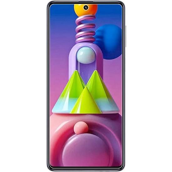 Case 4U Samsung Galaxy M51 Cam Ekran Koruyucu Nano Şeffaf