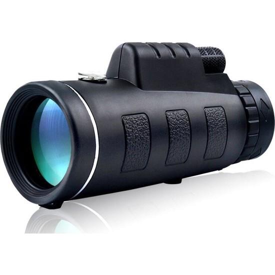 Sw Future 40x60 Tek Göz Düşük Işık Gece Görüş HD Klipsli Cep Telefonu Dürbünü