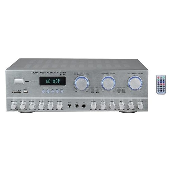 Bots BT-202 Stereo Anfi Güç 2X100 Watt Usb, Sd Card