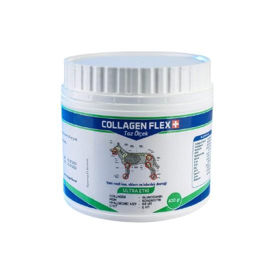 Collagen Flex Toz 400 gr 1 Adet Köpekler Için Kas, Eklem,kıkırdak ve Kemik Desteği Gıda Takviyesi