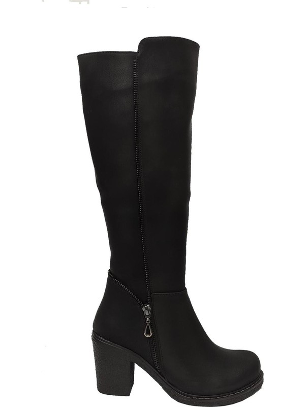 Leona 2520 Deri Trend Fashion Kadın Çizme