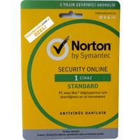 Norton Security Online Standard 3.0 1 Cihaz 1 Yıl