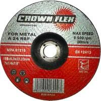 Metal Taşlama Taşı 115X6 Mm Crown (200 Adet)