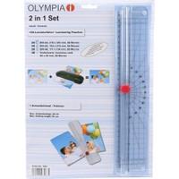 Olympia L3083 - 2İn1 Set Laminasyon Poşeti Ve Giyotin Mak.