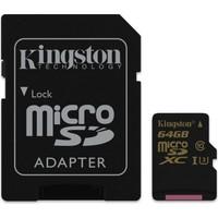 Kingston 64GB Microsdhc Class U3 UHS-I 90R/45W SDCG/64GB Hafıza Kartı