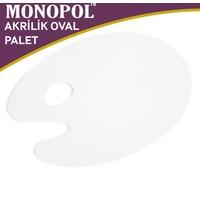 Monopol Akrilik Oval Resim Paleti - 28X40Cm