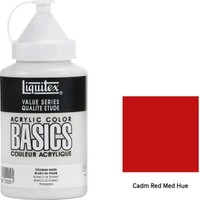 Liquitex Basic Akrilik 400 ml - N:151 Cadm Red Med Hue