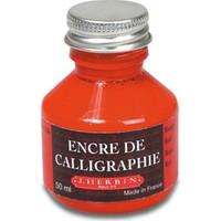 Encre De Calligraphie 50Ml - Red