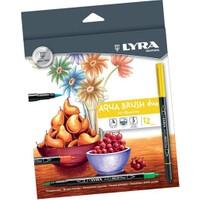 Lyra Aqua Brush Duo Hi-Quality Keçeli Kalem 12'Li