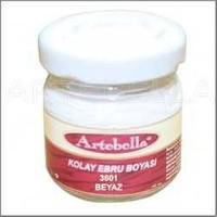 Artebella 3601 Beyaz Kolay Ebru Boyası 40Cc