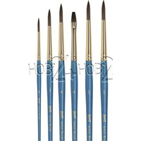 Bianyo 6 Lu Fırça Seti, Mavi Sap