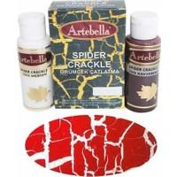 Artebella Örümcek Çatlatma 3266 Kırmızı 70 Cc Medium + 70 Cc Vernik