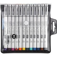 Copic Multiliner Sp Color 12`Li Set Renkli Bs Fırça Uçlu