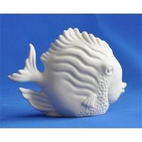 Seramik Obje - Küçük Balık - 4X11X8,5Cm