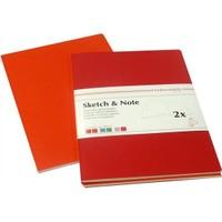 2Li Sketch & Note - A6 - 10,5X14,8Cm