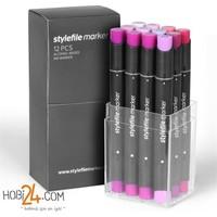 Stylefile Marker 12'Li Violet Set