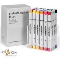 Stylefile Marker Brush 24'Lü Main A Set