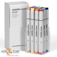 Stylefile Marker Brush 12'Li Main A Set