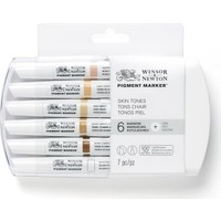 Winsor & Newton Pigment Marker 6'Lı Set Skin Tones