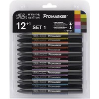 Winsor & Newton Promarker 12+1 Set 1
