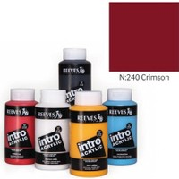 Reeves Intro Akrilik Boya 500Ml - N:240 Crimson