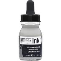 Liquitex Akrilik Mürekkep 30Ml - Neutral Gray