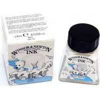 Winsor & Newton Çini Mürekkebi 14Ml - White