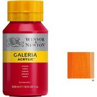 Winsor & Newton Galeria Akrilik Boya 500Ml - Cadmium Orange Hue 90