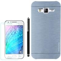 Gpack Samsung Galaxy On5 2015 Kılıf Sert Arka Kapak Motomo +Kalem +Kırılmaz Cam