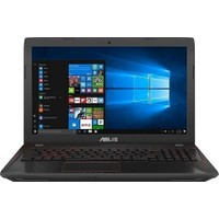 "Asus FX553VD-DM583T Intel Core i7 7700HQ 16GB 1TB + 128GB SSD GTX1050 Windows 10 Home 15.6"" FHD Taşınabilir Bilgisayar"