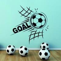 Goal Duvar Sticker