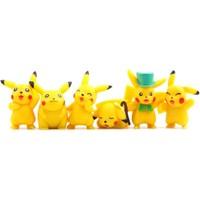 Pokemon Go 4 Cm Pikachu Action Figür Seti 6 Adet