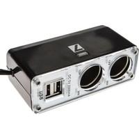 ModaCar 1 Çakmaktan 2 USB 2 Çakmak Çıkış Çoklayıcı 422388
