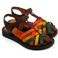 Lepi ki Deri Kız Çocuk Sandalet rengi 113299 02