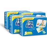 Evy Baby Bebek Bezi Kremli Jumbo Paket Junior 36 Adet 4'Lü Set
