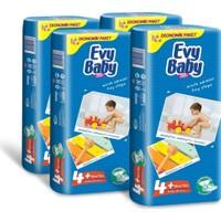 Evy Baby Bebek Bezi Kremli Jumbo Paket 42 Adet Maxi Plus 4'Lü Set