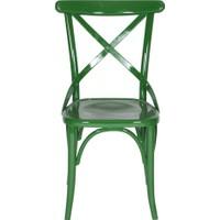 Kuşaklı Yeşil Sandalye