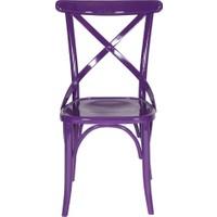 Purple Kuşaklı Sandalye